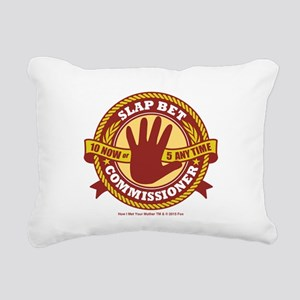 HIMYM Commissioner Rectangular Canvas Pillow