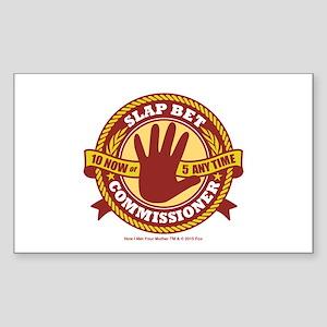 HIMYM Commissioner Sticker (Rectangle)