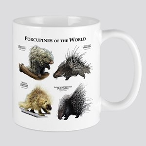 Porcupines of the World Mug
