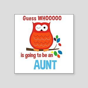 Bold Owl - New Aunt Sticker