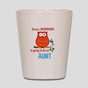 Bold Owl - New Aunt Shot Glass