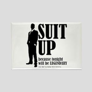 HIMYM Suit Rectangle Magnet