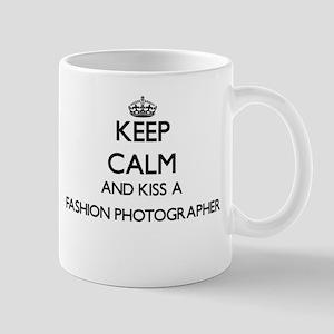 Keep calm and kiss a Fashion Photographer Mugs