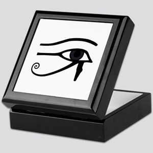 Right Eye Of Horus (Ra) Keepsake Box