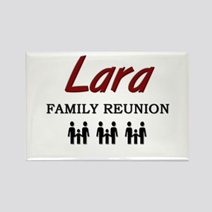 Lara Family Reunion Rectangle Magnet