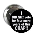 Not This Crap Button (10 pk)