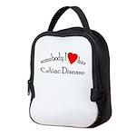 Somebody I Heart Has Celiac Neoprene Lunch Bag