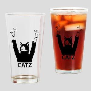 Catz Drinking Glass
