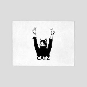 Catz 5'x7'Area Rug