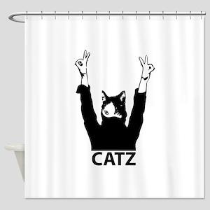 Catz Shower Curtain