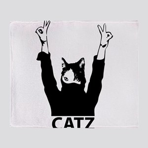 Catz Throw Blanket