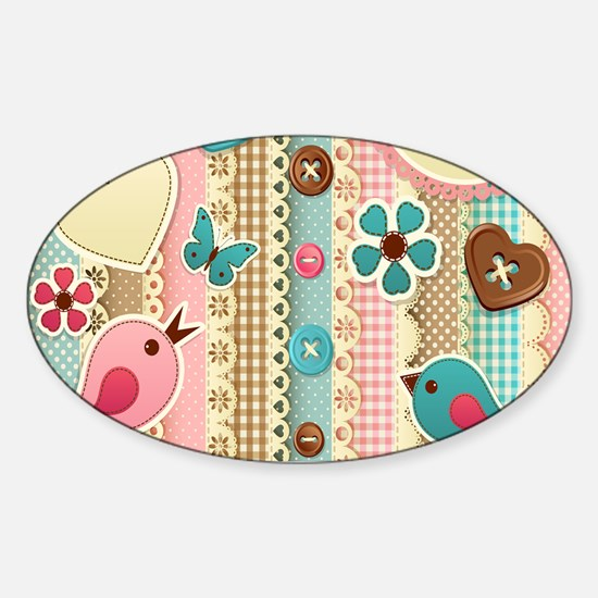 Baby pattern Decal