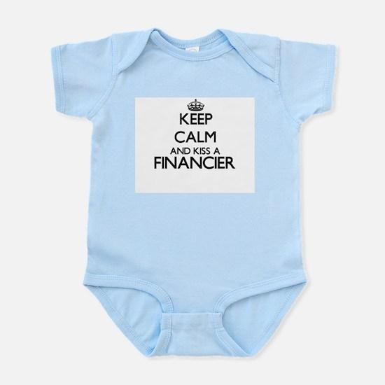 Keep calm and kiss a Financier Body Suit