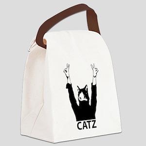 Catz Canvas Lunch Bag