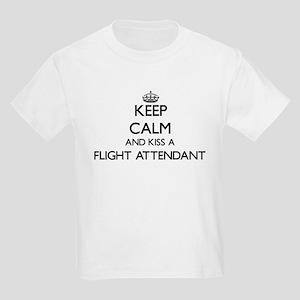 Keep calm and kiss a Flight Attendant T-Shirt