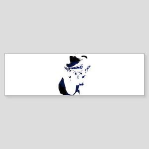 Gangster girl Bumper Sticker