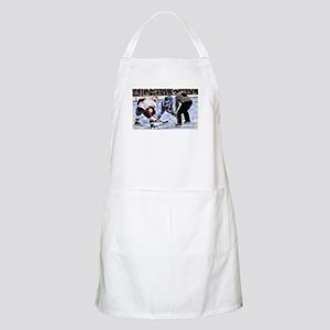 Ice Hockey Players and Referee Apron