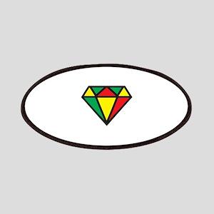 Reggae Diamond Patches