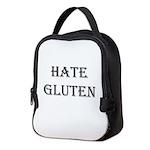 Hate Gluten Neoprene Lunch Bag