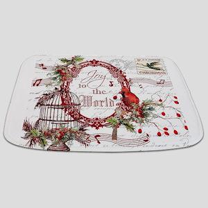 Joy To the World Bathmat