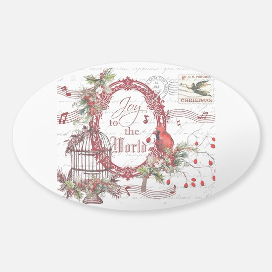 Joy To the World Decal