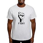 Fight The Power Light T-Shirt