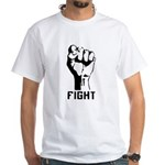 Fight The Power White T-Shirt