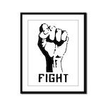 Fight The Power Framed Panel Print