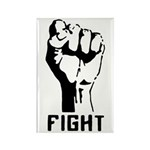 Fight The Power Rectangle Magnet
