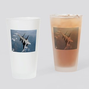 Fighter Jet Drinking Glass