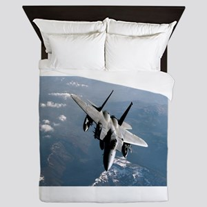 Fighter Jet Queen Duvet
