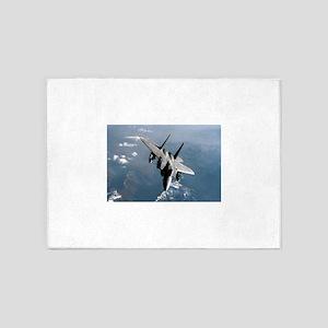 Fighter Jet 5'x7'Area Rug