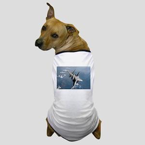 Fighter Jet Dog T-Shirt