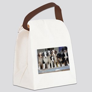 the pups Canvas Lunch Bag