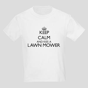Keep calm and kiss a Lawn Mower T-Shirt