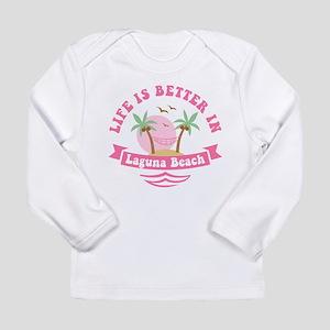 Life's Better In Laguna Long Sleeve Infant T-Shirt