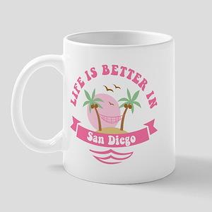 Life's Better In San Diego Mug