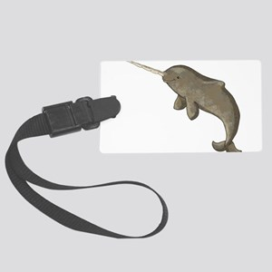 Narwhal Large Luggage Tag