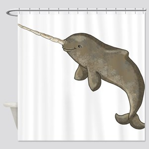 Narwhal Shower Curtain