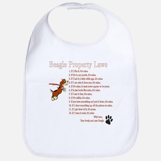 Beagle Property Laws Bib