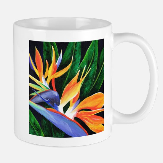 Bird of Paradise Mugs