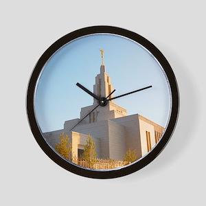 LDS Draper Utah Temple Wall Clock