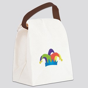 Jester Hat Canvas Lunch Bag