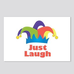 Just Laugh Postcards (Package of 8)