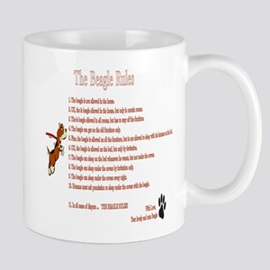The Beagle Rules Mugs