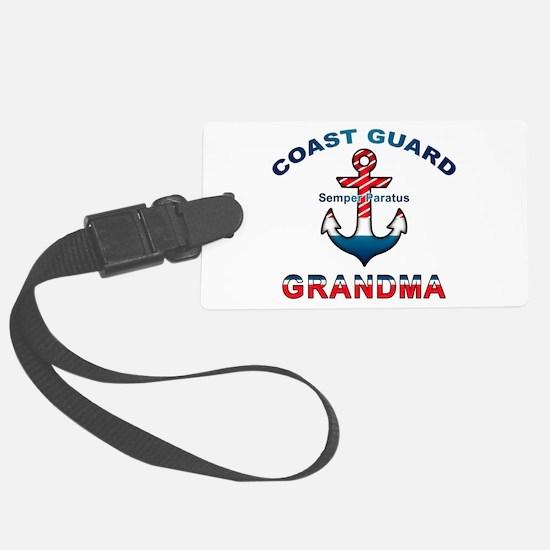 Cute Coast guard Luggage Tag
