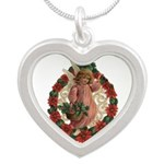 Poinsettia Angel Necklaces