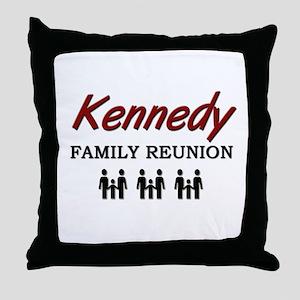 Kennedy Family Reunion Throw Pillow