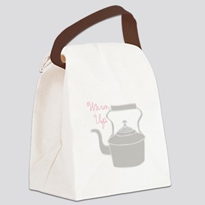 Warm Up Canvas Lunch Bag