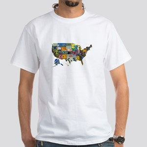 america license White T-Shirt